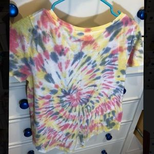 Hollister Tops - Tye-dye easy tee